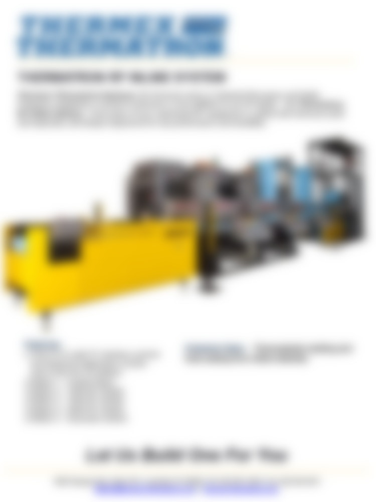Thermatron Rf Inline System1024 1