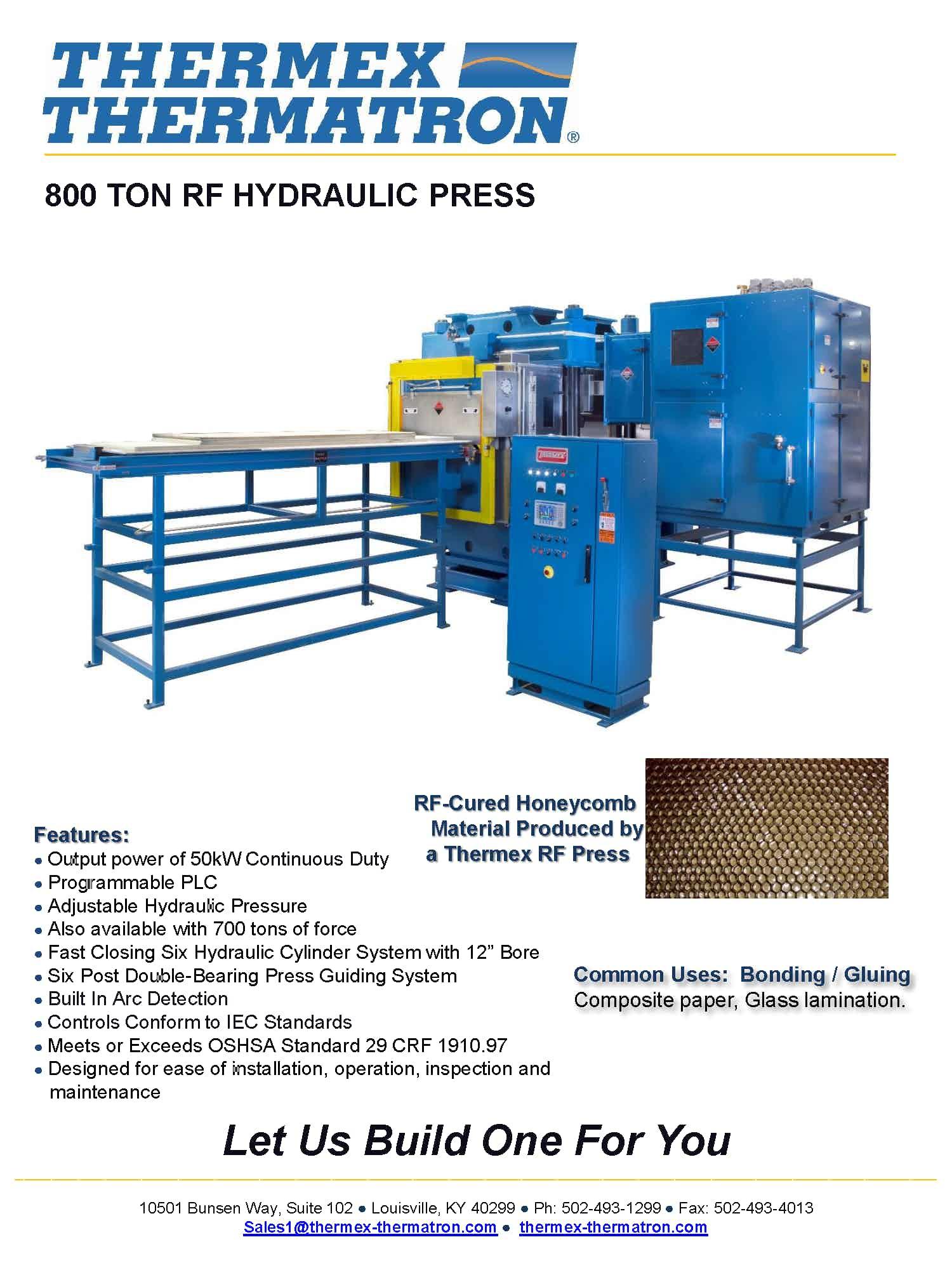 800 Ton Rf Hydraulic Press Png Page 1