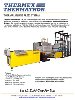 56833 Thermal Inline Press System