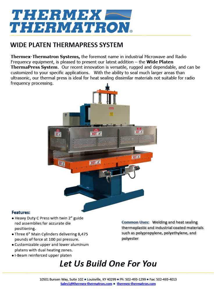 Thermapress Wide Platen System1024 1
