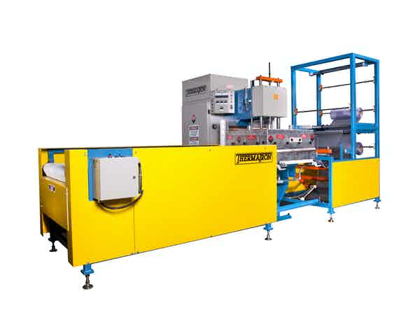 Rf Platen Press With Indexing System