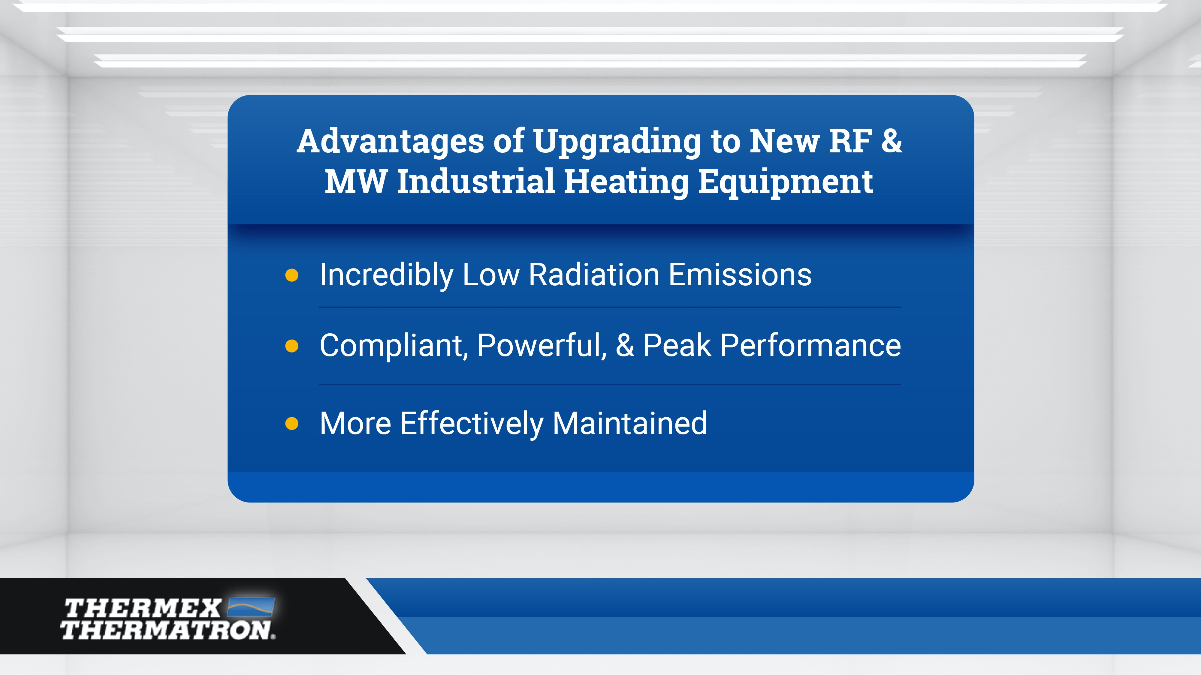 Advantages To Upgrading Rf Mw Heating Equipment