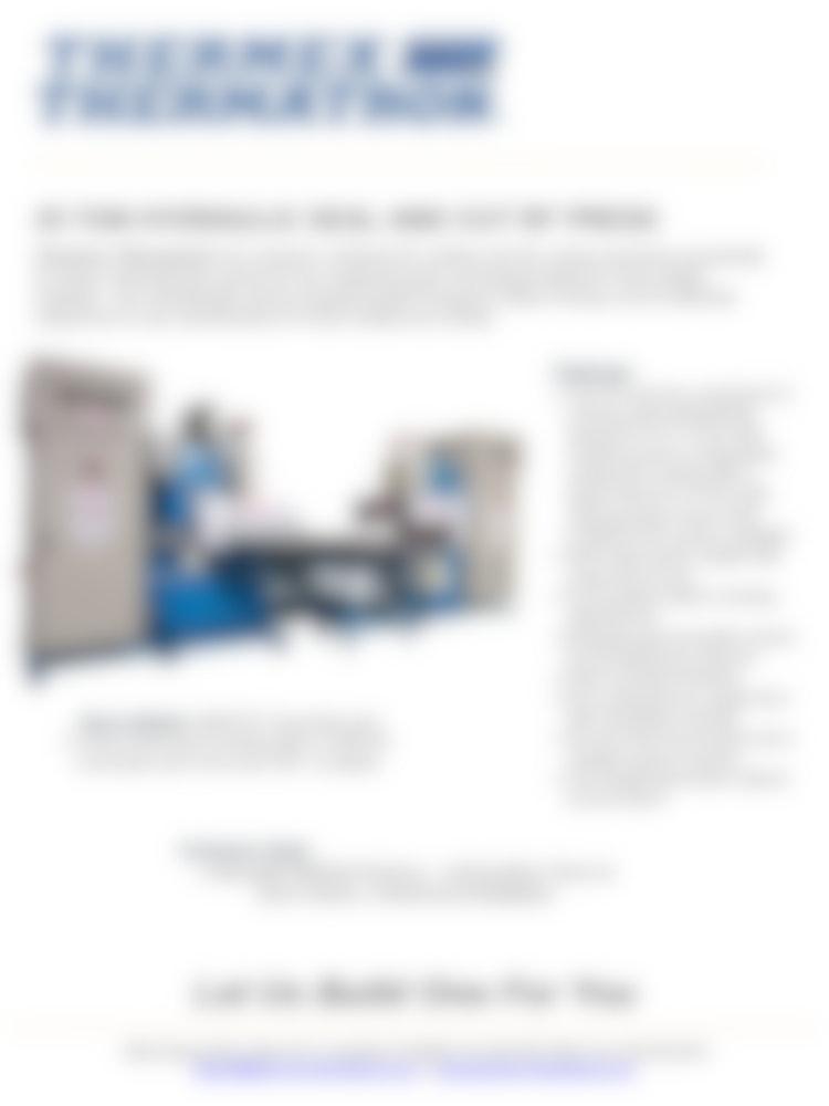 25 Ton Hydraulic Rf Seal Cut Press1024 1