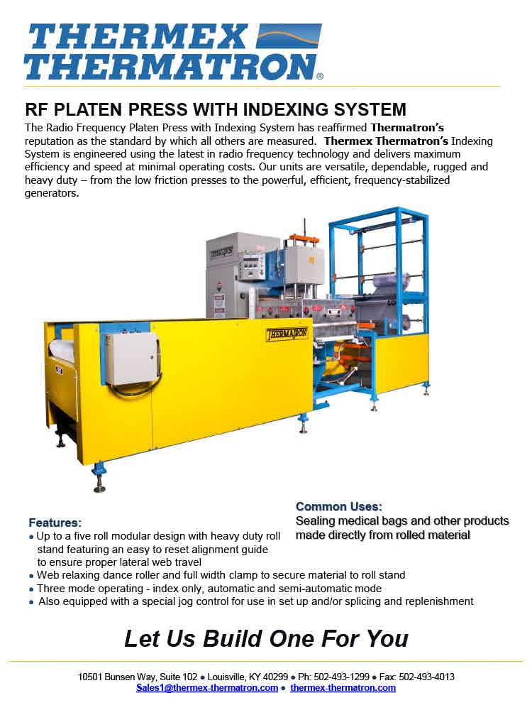 Rf Platen Press With Indexing System1024 1