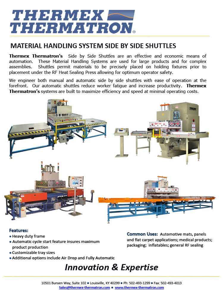 Material Handling System Side By Side Shuttles