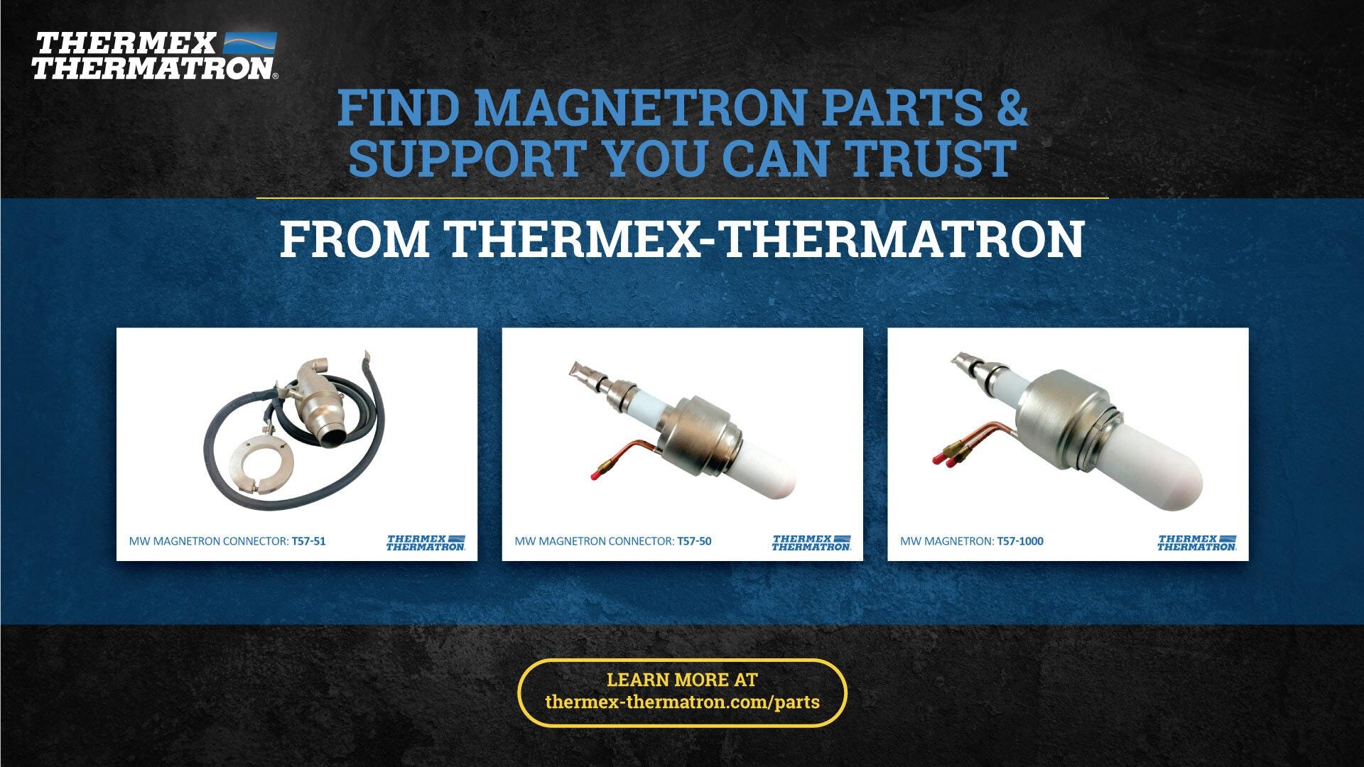 Magnetron Parts Overview