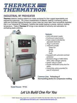 56833 Industrial Rf Preheater