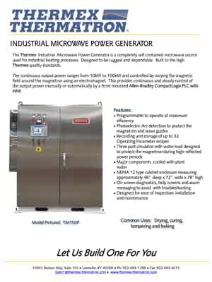 56833 Industrial Microwave Generator